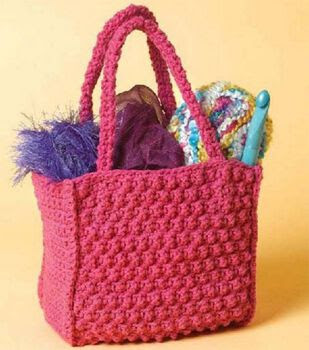Little Textured Tote