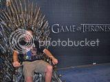 2012 Toronto Fan Fest - Game Of Thrones set piece