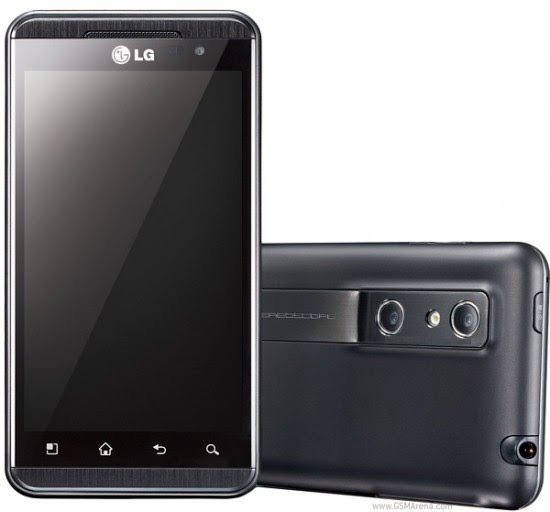 LG Optimus 3D 550x512 Top 10 Touchscreen Phones for 2012