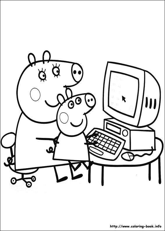 68 Www.coloring-book.info Peppa Pig Best HD