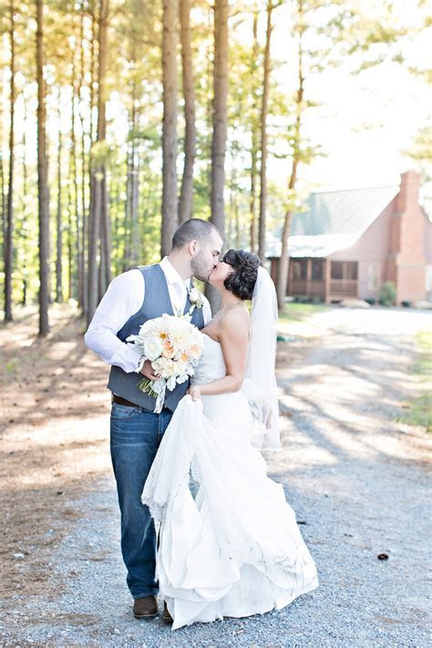Country Wedding With Groom In Jeans   Rustic Wedding Chic