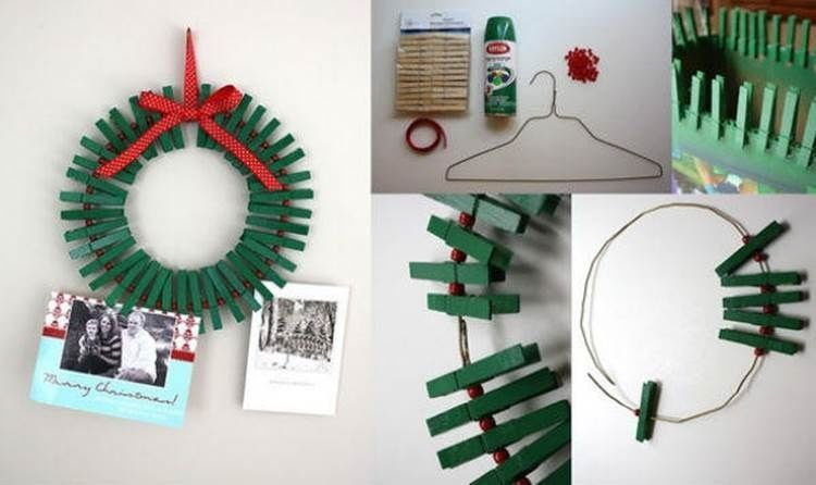 How To Make A Clothespin Photo Frame Pictures Photos And Images