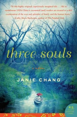 Book Review:  Three Souls by Janie Chang