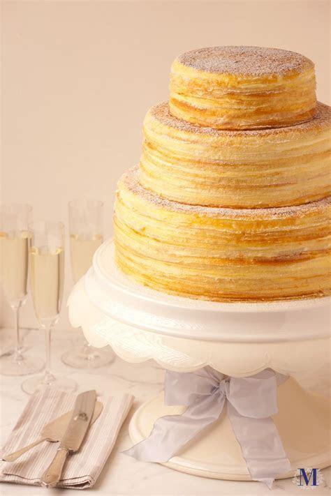 Lady M® Wedding Mille Crêpes @ Lady M Confections   Food