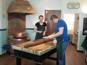 reine Handarbeit bei Fudge Kitchen