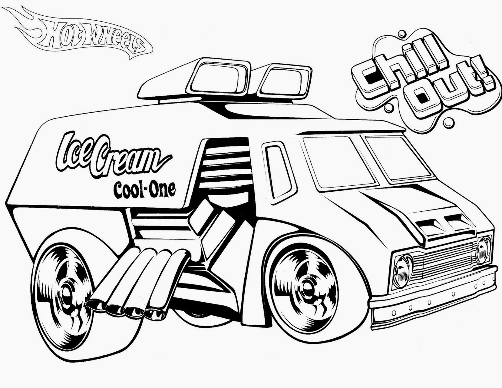 Hot Wheels Monster Truck Coloring Pages at GetColorings ...