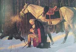 Washington Praying