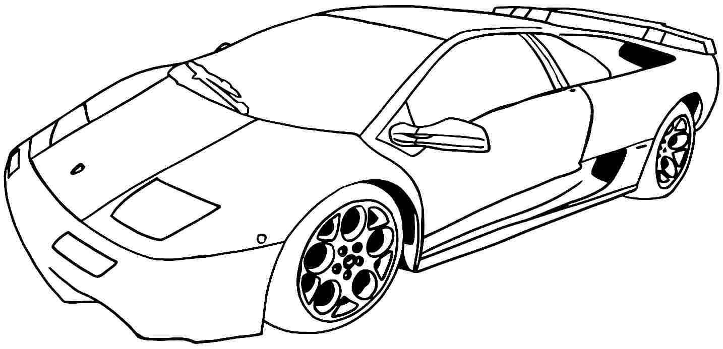 Car Coloring Pages at GetColorings.com | Free printable ...