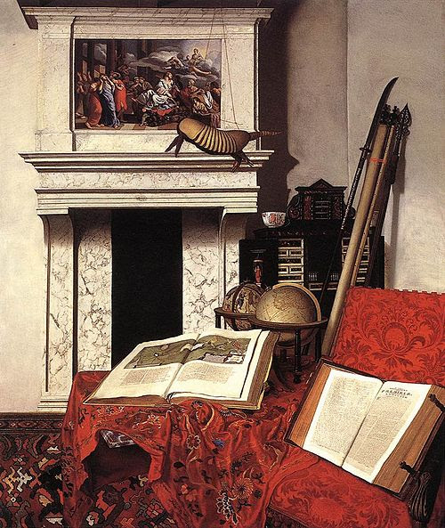 Jan van der Heyden - Still-life with Rarities - WGA11397