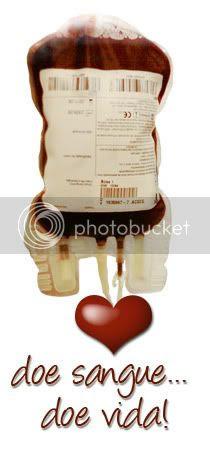 Doe Sangue, doe vida!