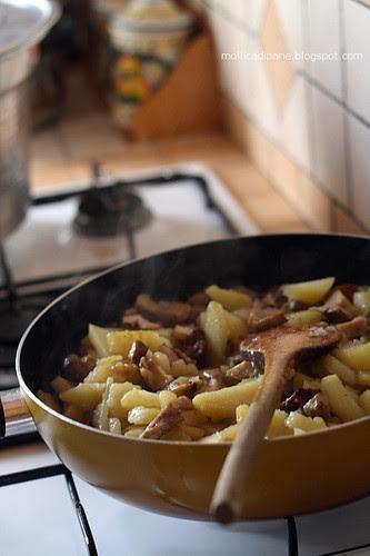 Patate e porcini