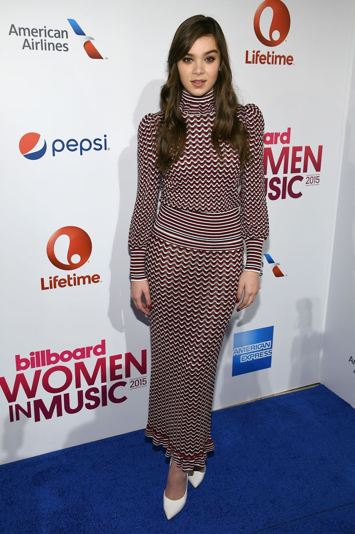 HAILEE STEINFELD at Billboard
