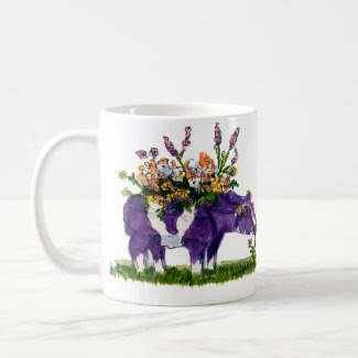 purple cow coffee mugs