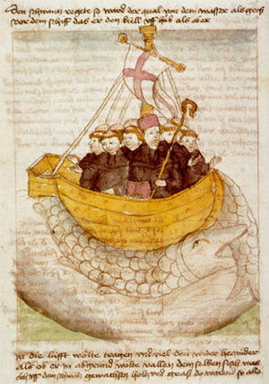Book illustration Manuscriptum translationis g...