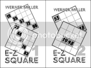 Werner Miller's E-Z Square booklets