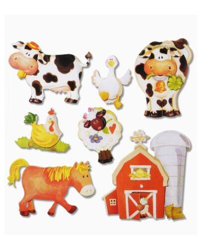 Dekoration 3d Wandsticker Wandtattoo Tiere Bauernhof 504 Pferd Kuh Stall Usw Kinderzimmer Mobel Wohnen Tmp Tozi Media
