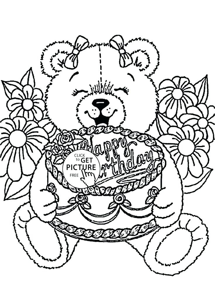 Happy Birthday Frozen Coloring Pages at GetColorings.com ...