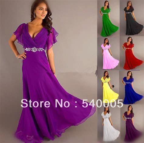 pretty girl V neck wiht sleeve purple grey royal blue