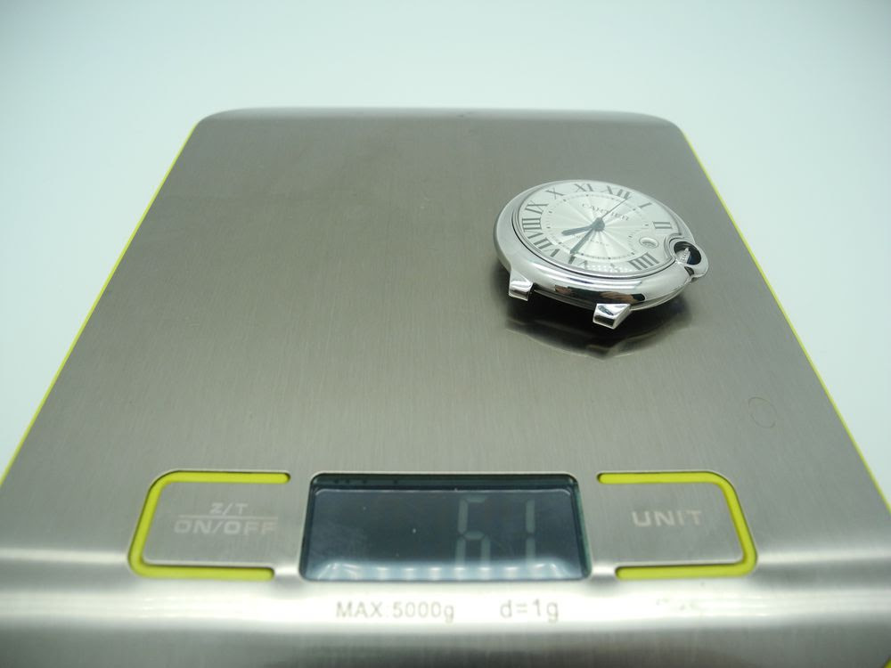 V6 Cartier Case Weight