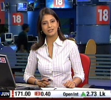 FUNIN PAGE: Indian Telivisions Hottest News Anchor!!!