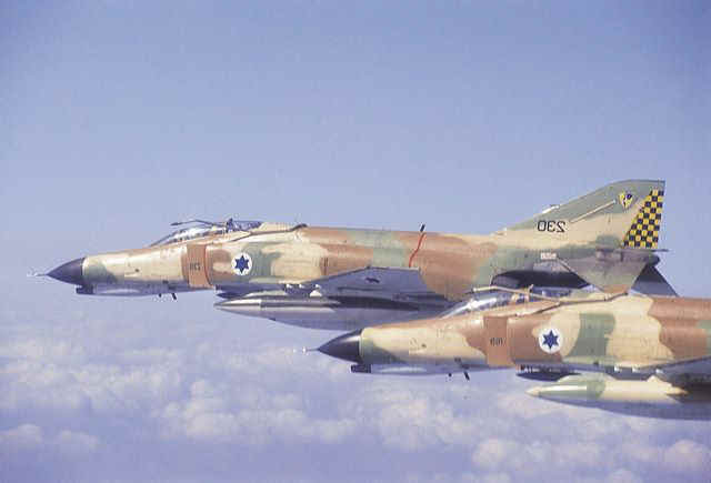 Israeli Air Force F-4 Phantom II Fighter / Bombers
