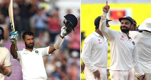India vs England Test 4: Pujara's Knock Help India Settle For 273 Runs And Lead By 27 Runs