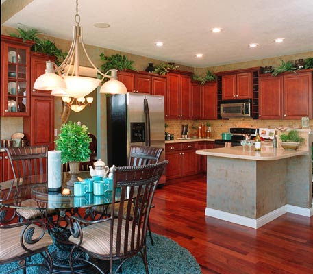 Kitchen Cabinet Top Decoration - Inspirational Kitchen Decor Ideas