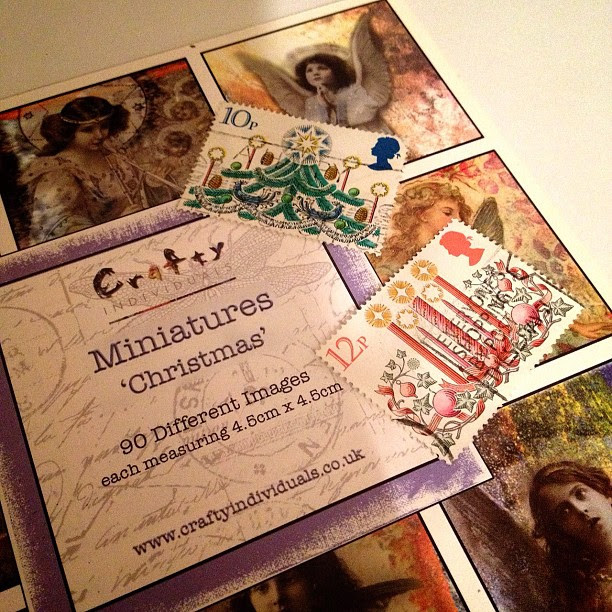 Starting my #christmas #cards using #stamps and #images unfortunately they won't be very unique this year :(