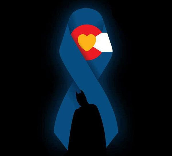 Honoring the victims of July 20's movie theater massacre in Aurora, Colorado.