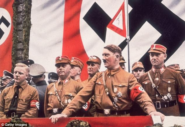 The author admits it is unclear whether fascist leader Adolf Hitler drew direct inspiration from the Canadian camps