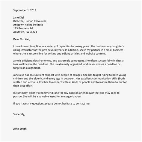 Sample Letter Of Attestation Good Character Examples