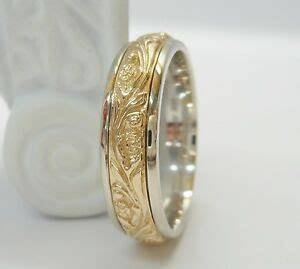 Men 039 s 14k White Amp Yellow Gold Two Tone ArtCarved