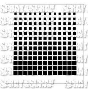 Dégradé de carrés