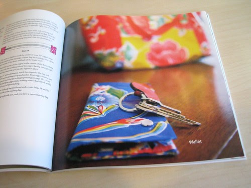 Sewing With Oilcloth - Wallet