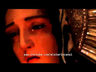 Virgen de la Soledad llora en semana santa