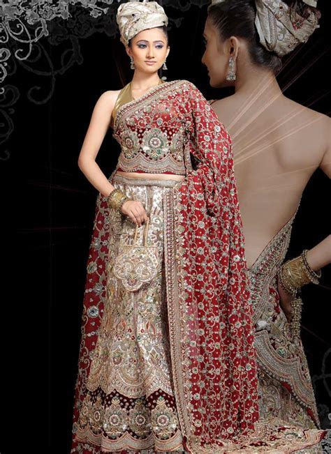 Indian Bride Dress Idea And Inspiration ? The WoW Style
