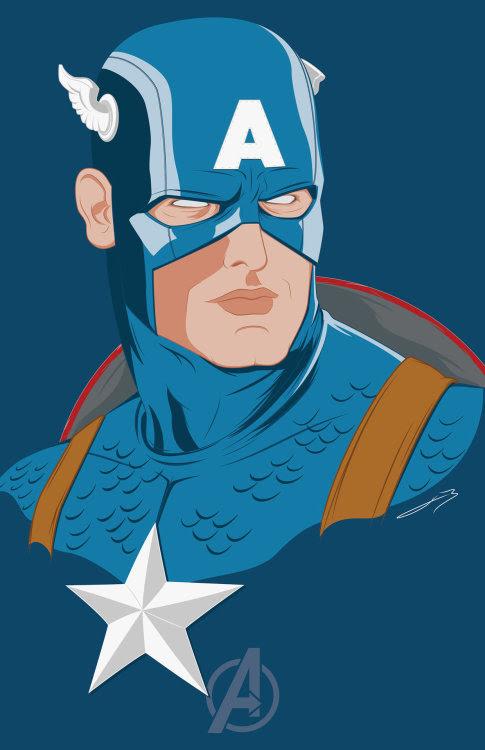 Captain AmericaCreated by Bruno Vieyra