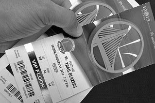 Golden State Warriors - VIP floor tix