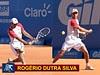 Rogério Dutra Silva  vence e fica a uma vitória da chave principal do Brasil Open de tênis