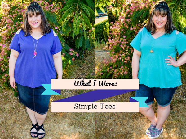 What I Wore: Simple Tees
