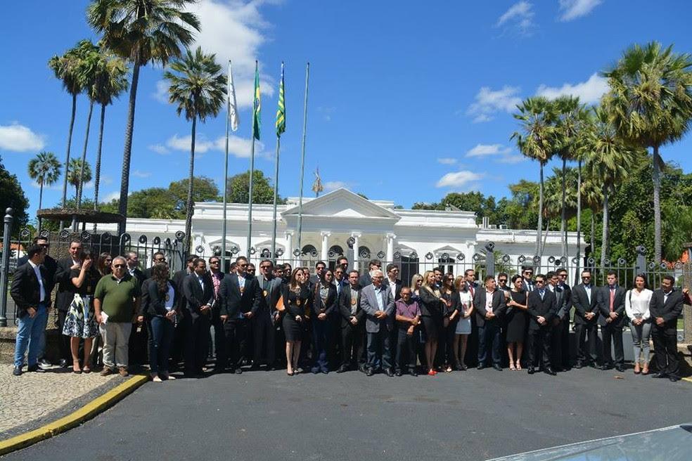 Delegados entregam os cargos em 22 delegacias regionais (Foto: Divulgação/Sindepol)