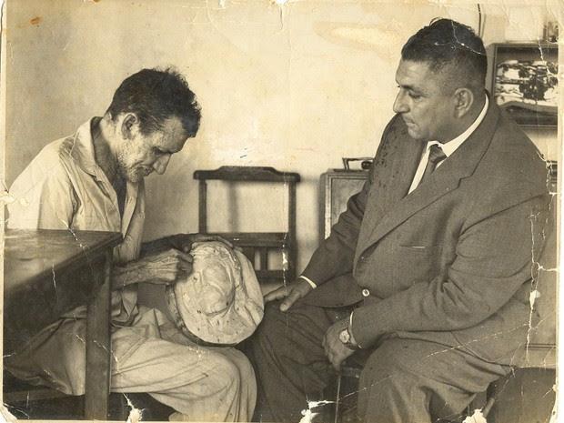 Djalma Maranhão foi eleito prefeito de Natal em 1960 (Foto: Roberto Monte/www.dhnet.org.br)