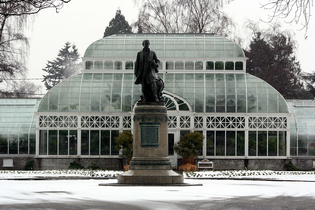 Seward's Monument at the Conservatory