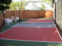 Building A Backyard Multi Sport Game Court Building A Backyard