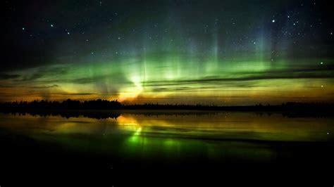 Landscapes night aurora borealis wallpaper   AllWallpaper