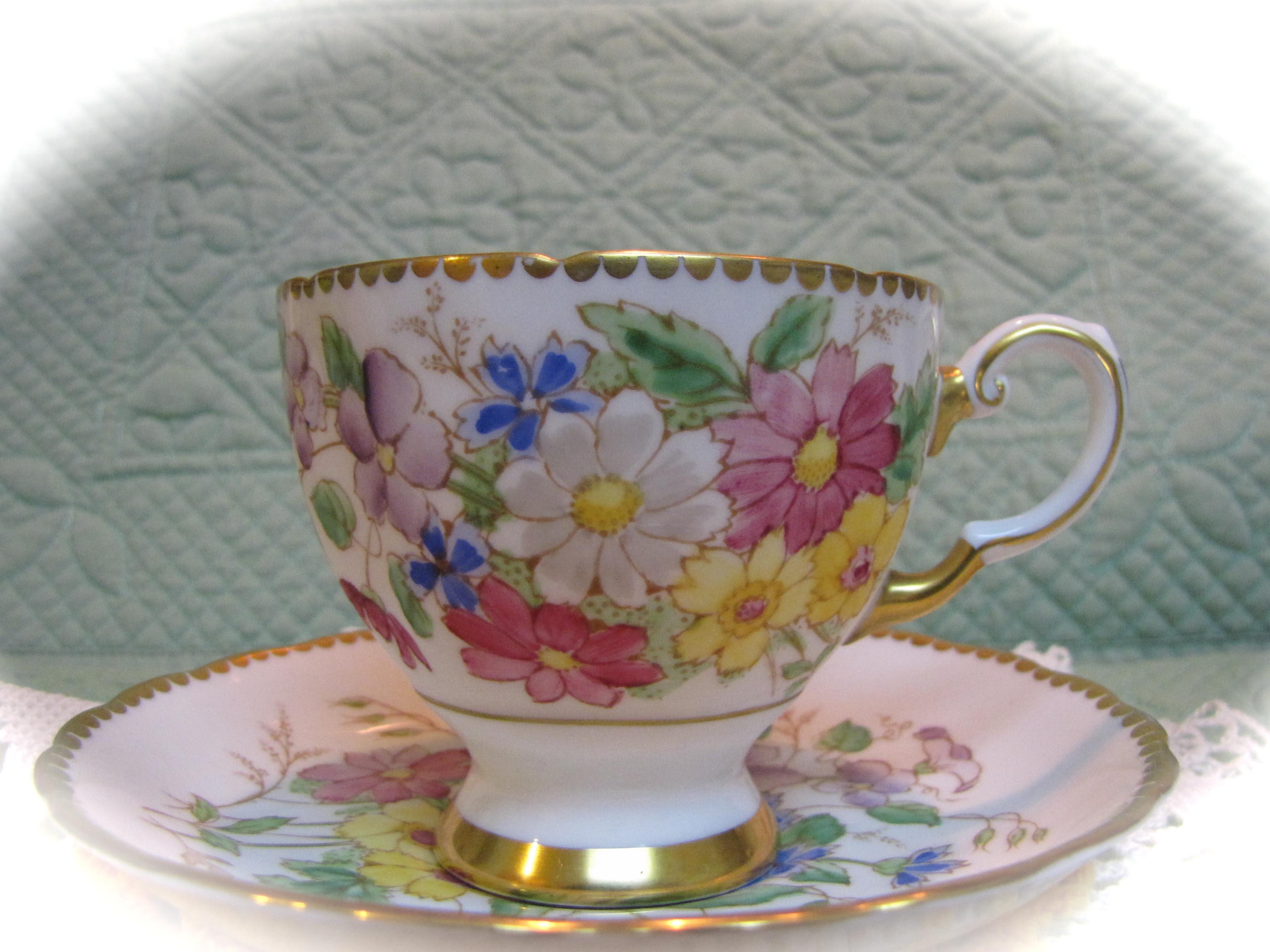 Tuscan Tea Cup
