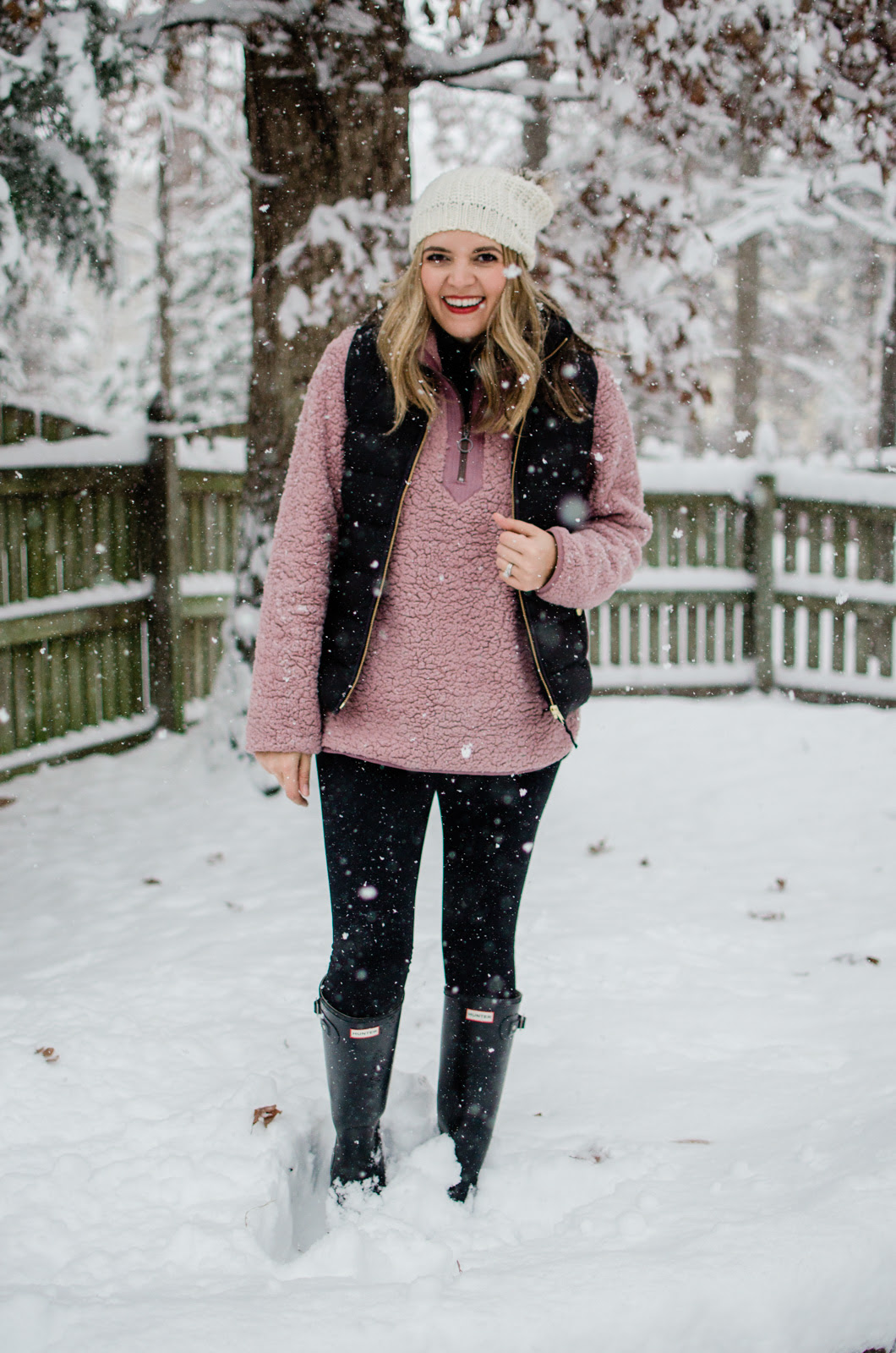 five snow day outfits lauren m
