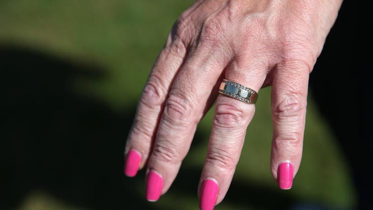 Erica Maurizio's wedding ring