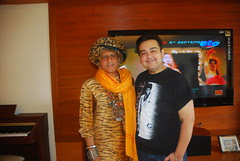 Adnan Sami and Me by firoze shakir photographerno1