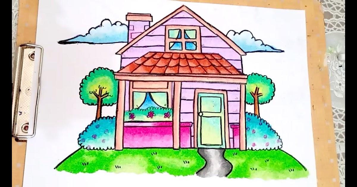 4400 Gambar Rumah Gradasi Terbaru Gambar Rumah